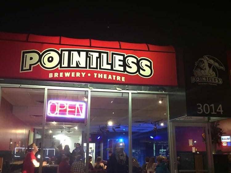 Pointless Brewery & Improv Theatre
