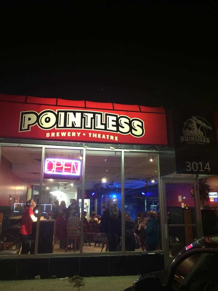 Pointless Brewery & Improv Theatre