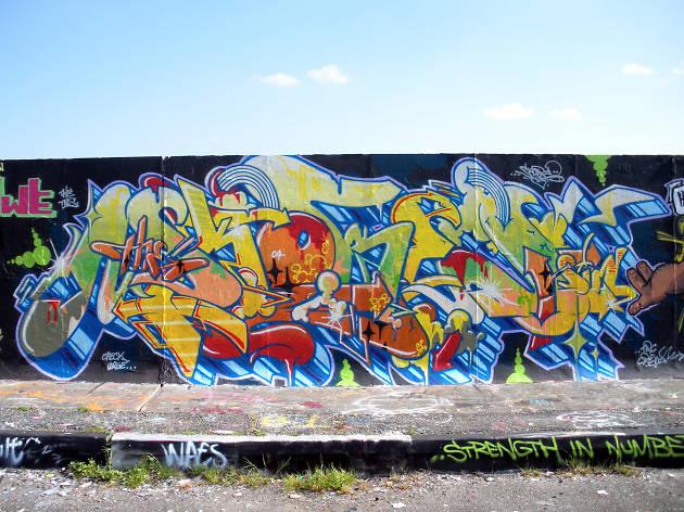Plaistow Legal Graffiti Wall