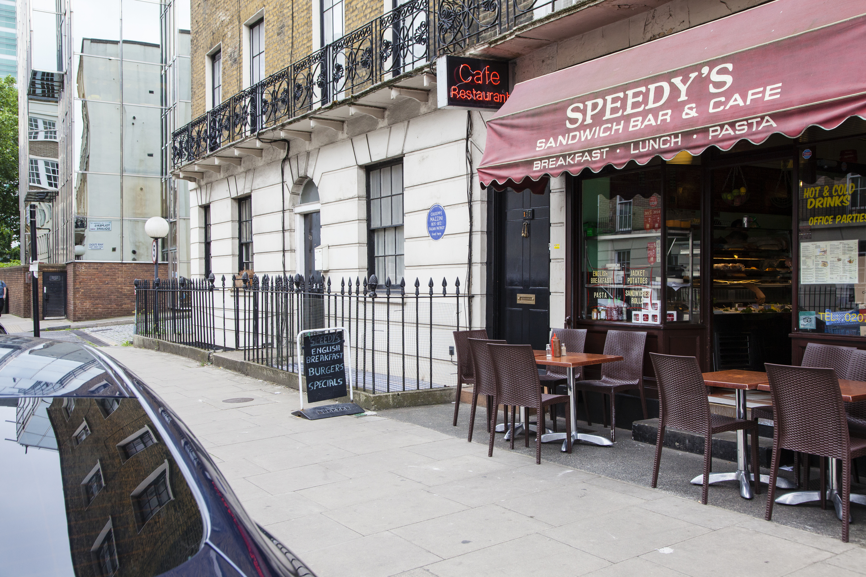 London on screen: The café from 'Sherlock'