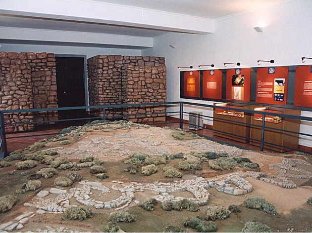 sala de arqueologia