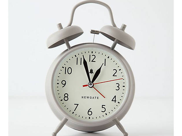 6 Best alarm clocks newgate_anthropologie