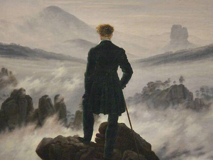 Wander above the Sea of Fog at the Hamburger Kunsthalle