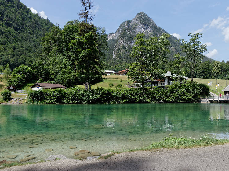 Swim in the Königsee