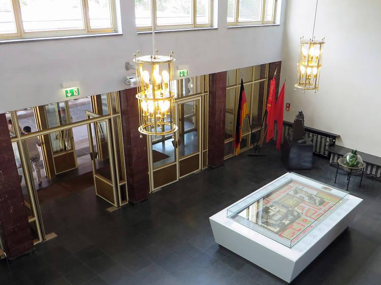 Explore the Stasi Headquarters