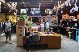 Take a look inside Replay's 'The Office' pop-up bar in Lincoln Park