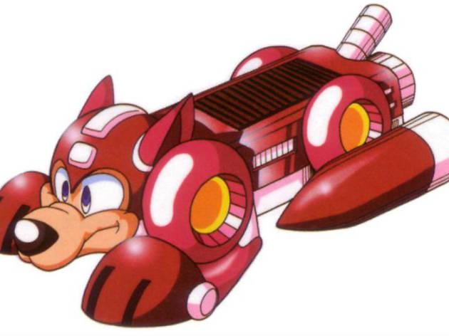 Rush mascota Megaman
