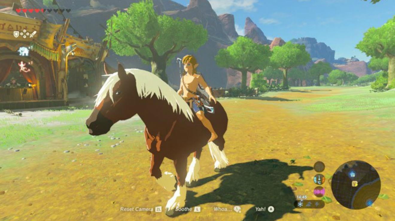 Epona, Zelda