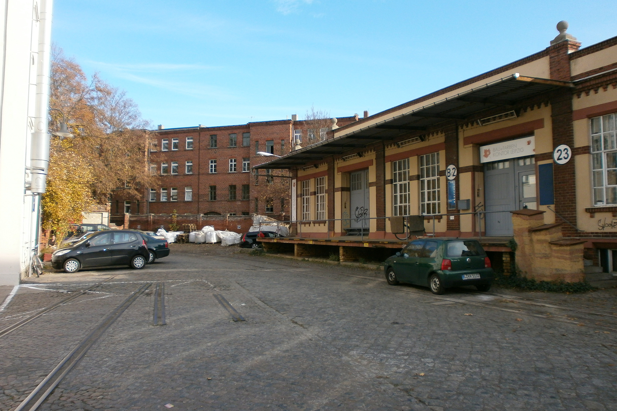Leipzig's Baumwollspinnerei, eitw