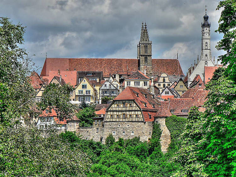 Revisit the Middle Ages in Rothenburg an der Tauber
