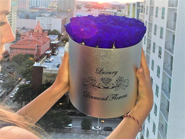 Luxury Diamond Flowers