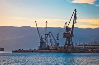 Port in Rijeka