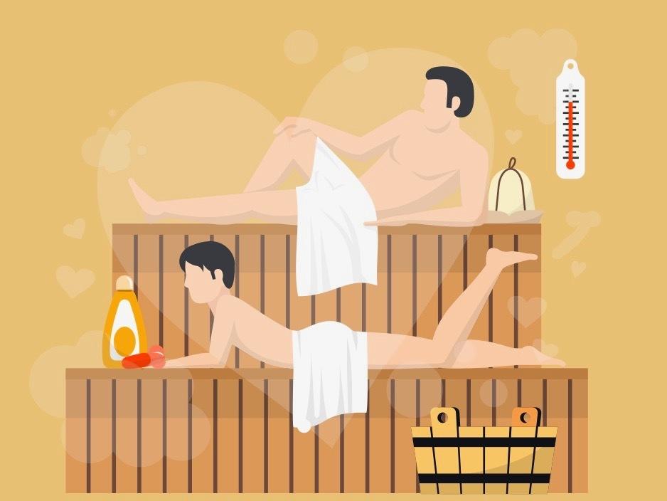 LGBT sauna