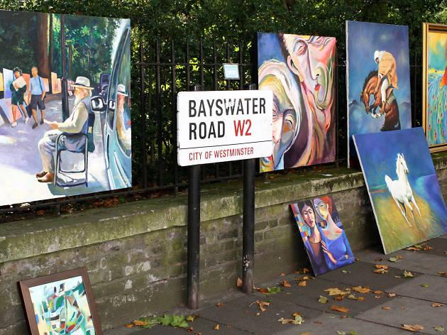 Bayswater Road Sunday Art Exhibition