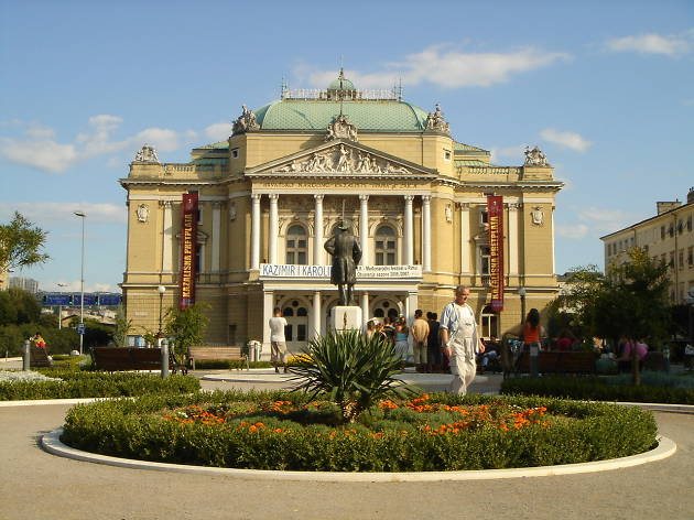 Ivan pl. Zajc Croatian National Theatre