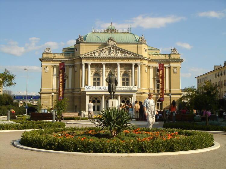 Ivan pl. Zajc Croatian National Theatre