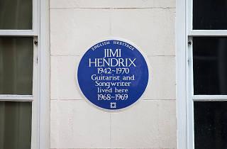Blue Plaque: Jimi Hendrix
