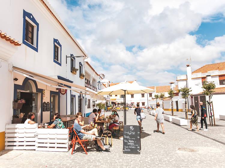 Fazer compras em Vila Nova de Milfontes
