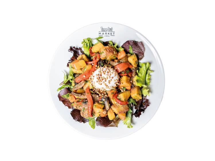 Warm Salad - Cozinha da Felicidade