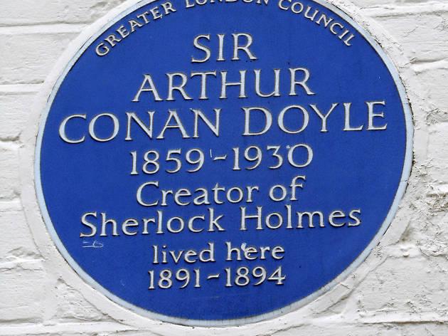 Blue Plaque: Sir Arthur Conan Doyle