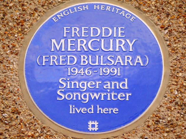 Blue Plaque: Freddie Mercury