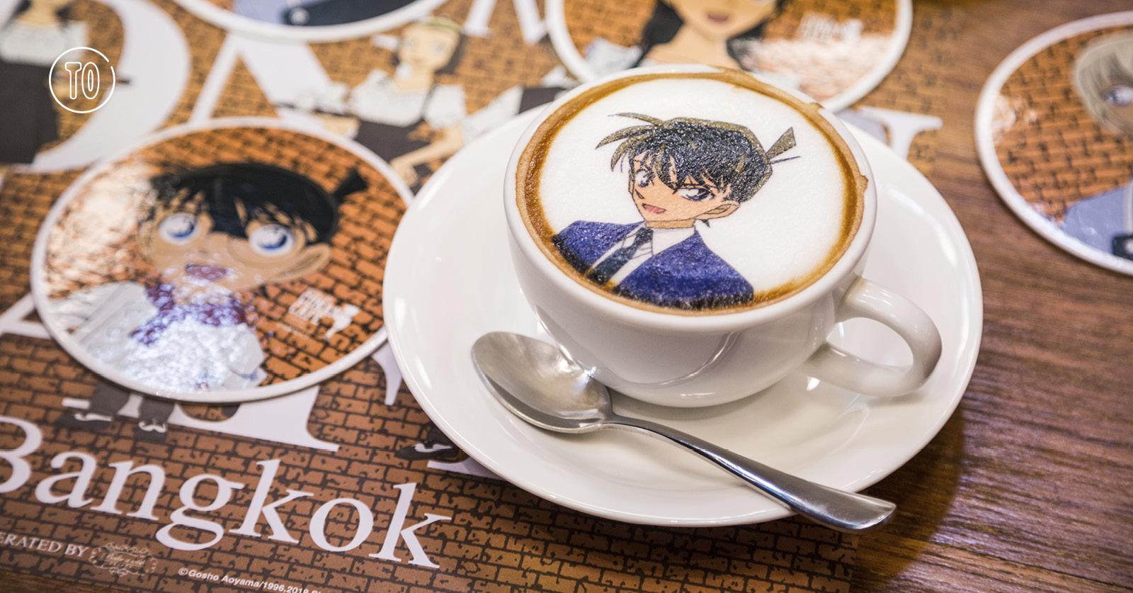 Detective Conan Café Bangkok