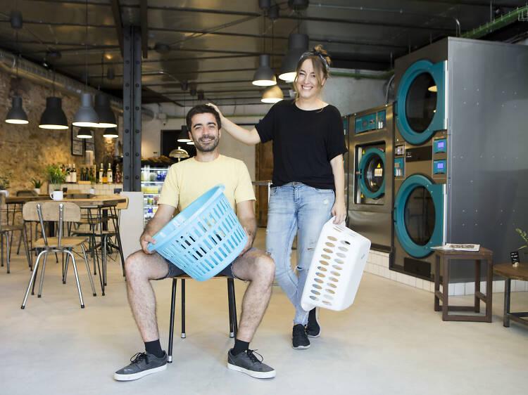 Barcelona's laundry bar