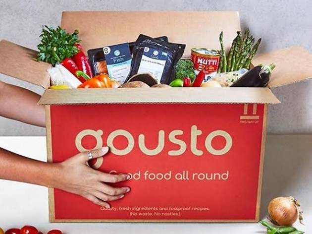 Gousto Recipes Boxes
