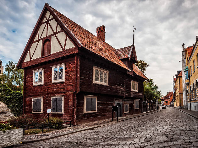 Unesco World Heritage Site of Visby, sweden, eitw