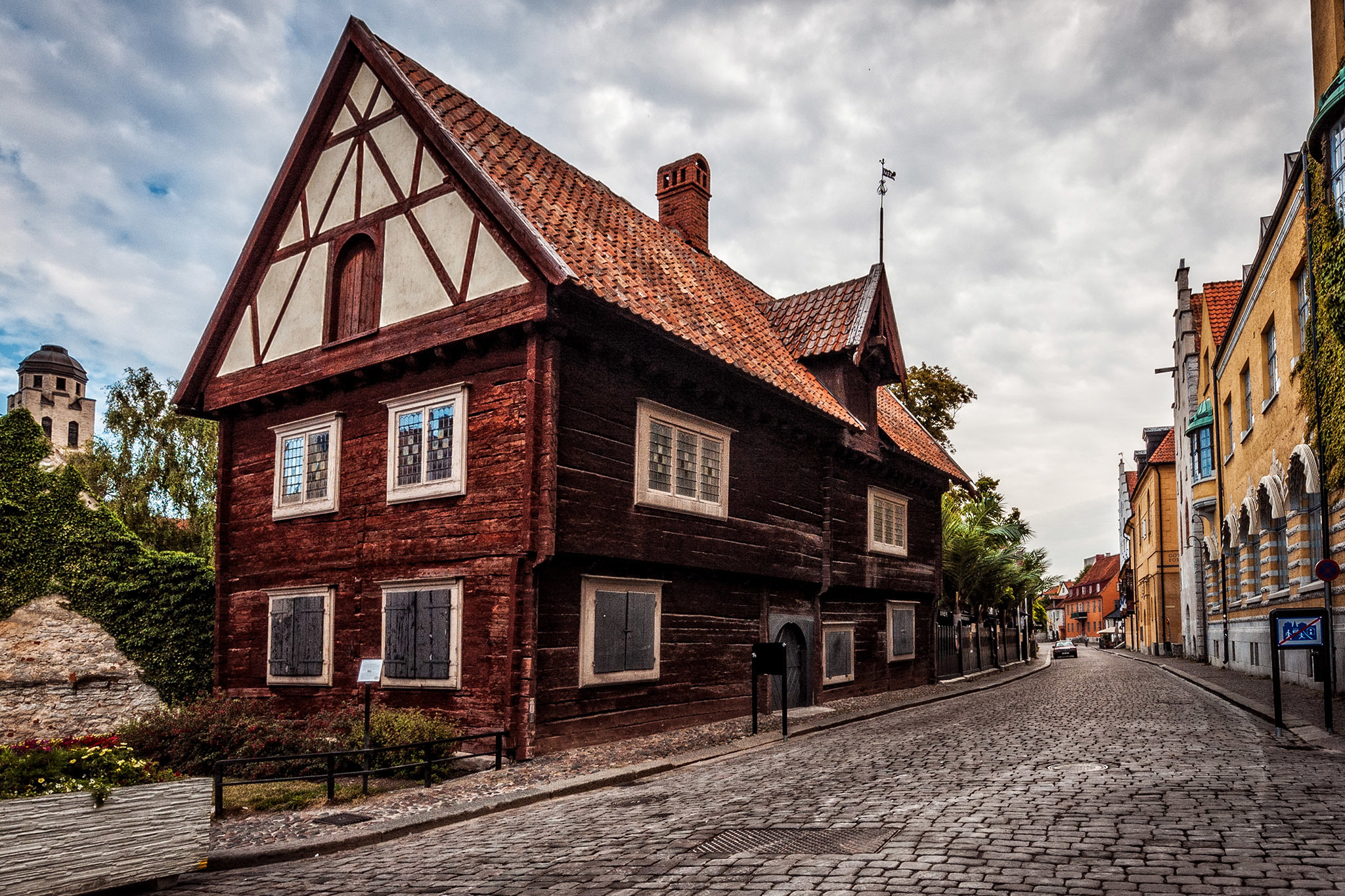Unesco World Heritage Site of Visby, sweden, eitw