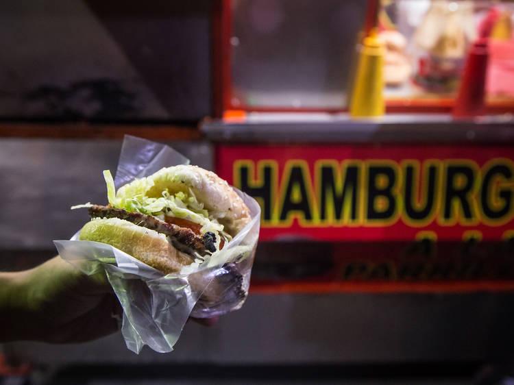 Hamburguesas a la Parrilla de Colima