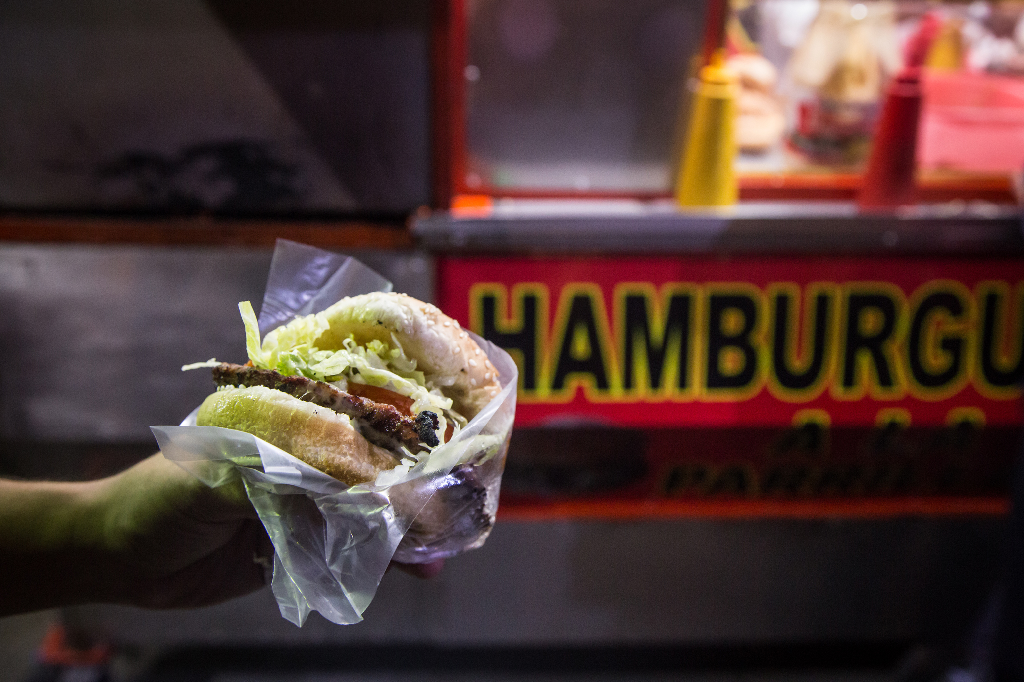 Hamburguesas a la parrilla  (Foto: Alejandra Carbajal)