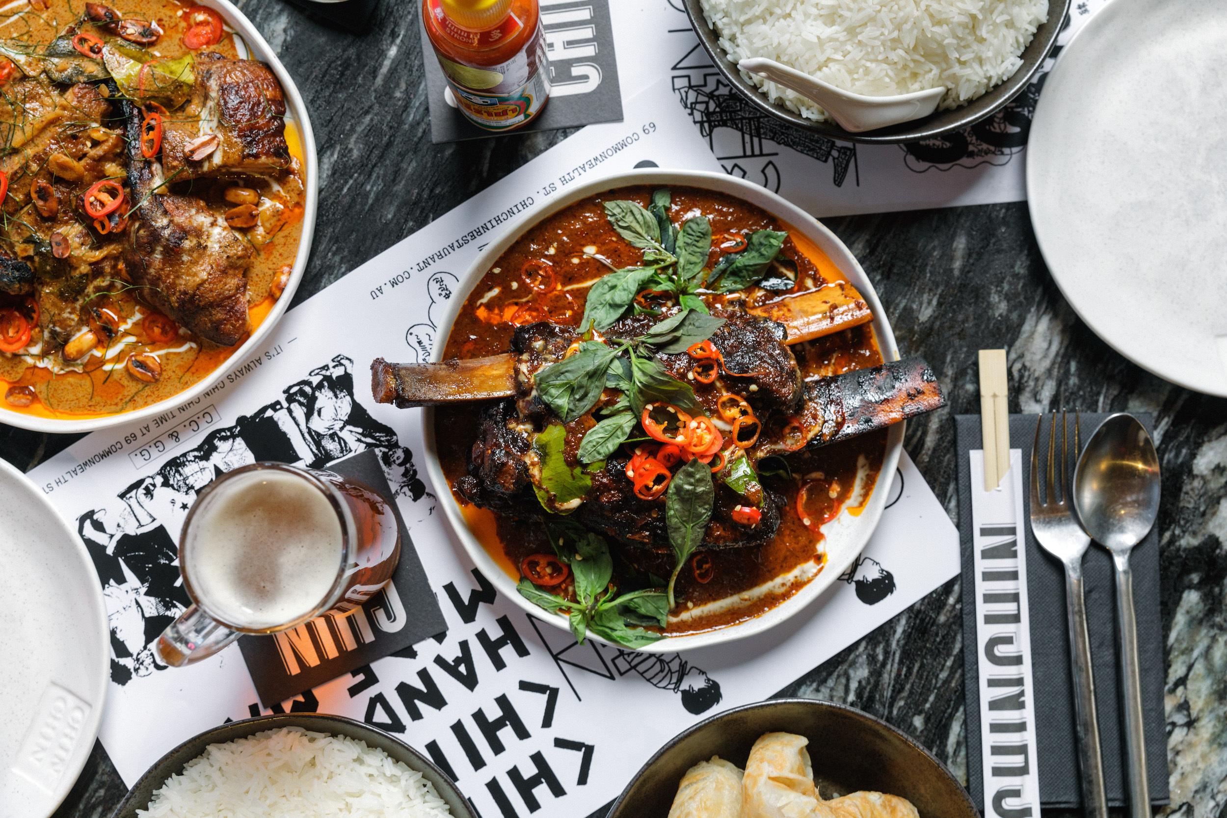 Chin Chin is offering takeaway for the first time ever