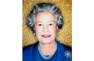 (Polly Borland, 'Her Majesty Queen Elizabeth II' 2001 © Polly Borland and Murray White Room )