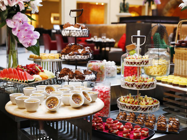 High tea at InterContinental