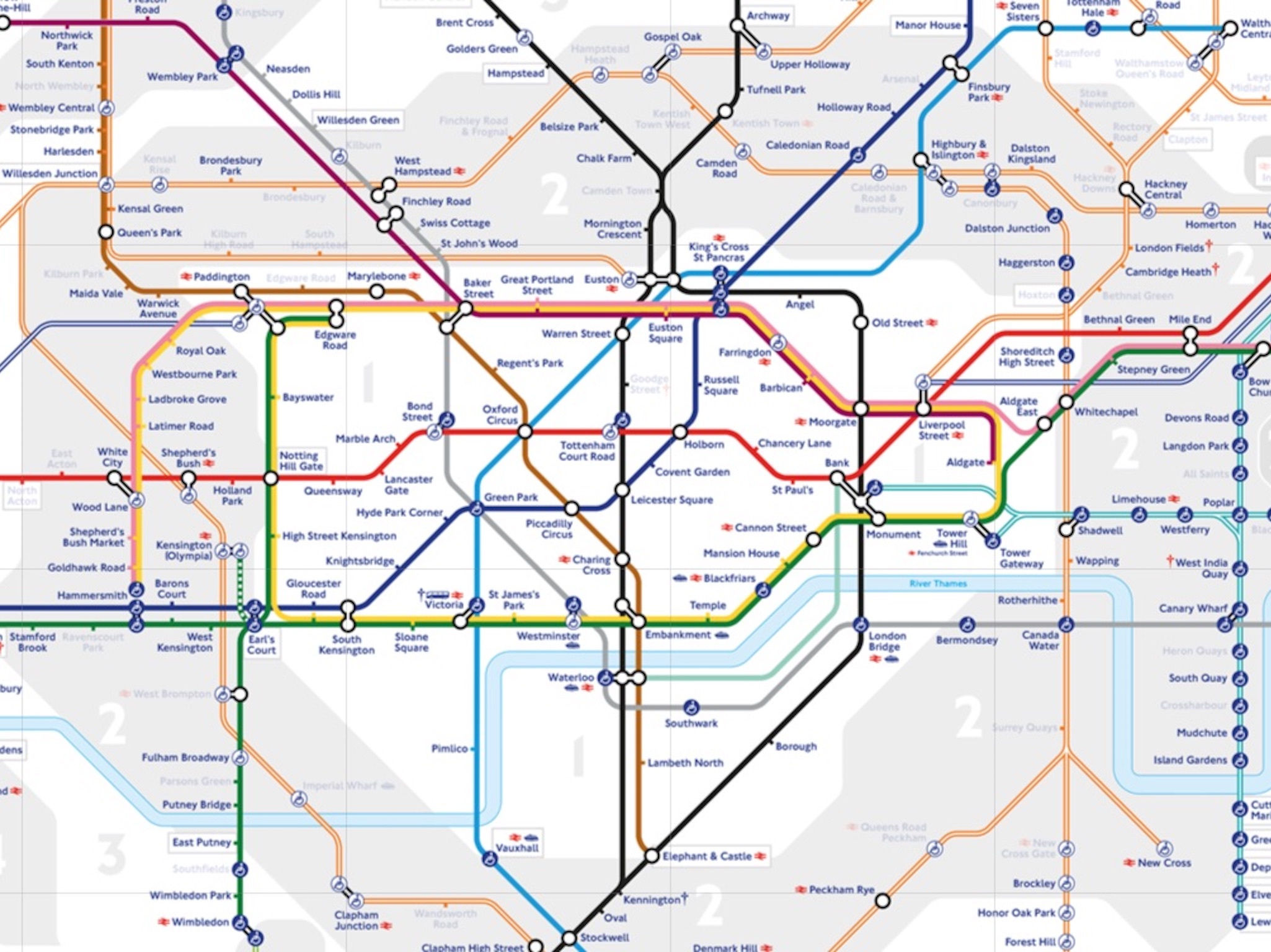 TfL Cultural Map placeholder
