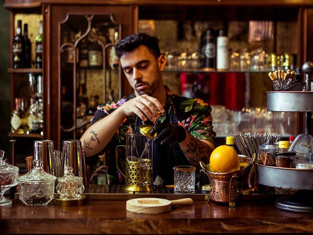 Noite, Bar, Café Klandestino