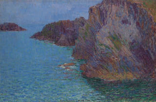 (John Russell 'Calm sea at Morestil Point' 1901, Photo: Natasha Harth)