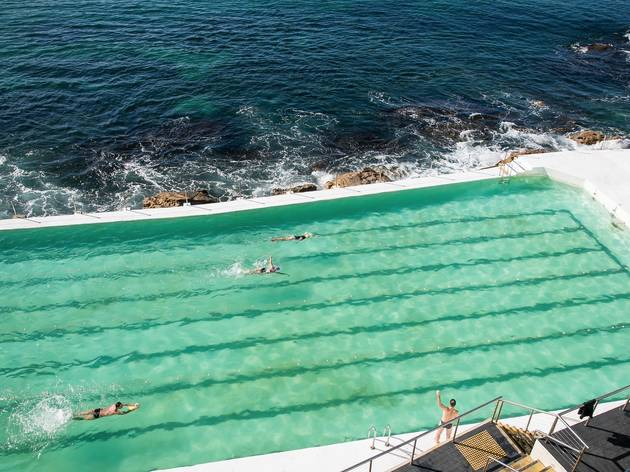 Bondi icebergs pool At Bondi Icebergs Dining