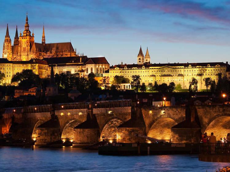 Prague by Night: Three-hour Dinner Cruise