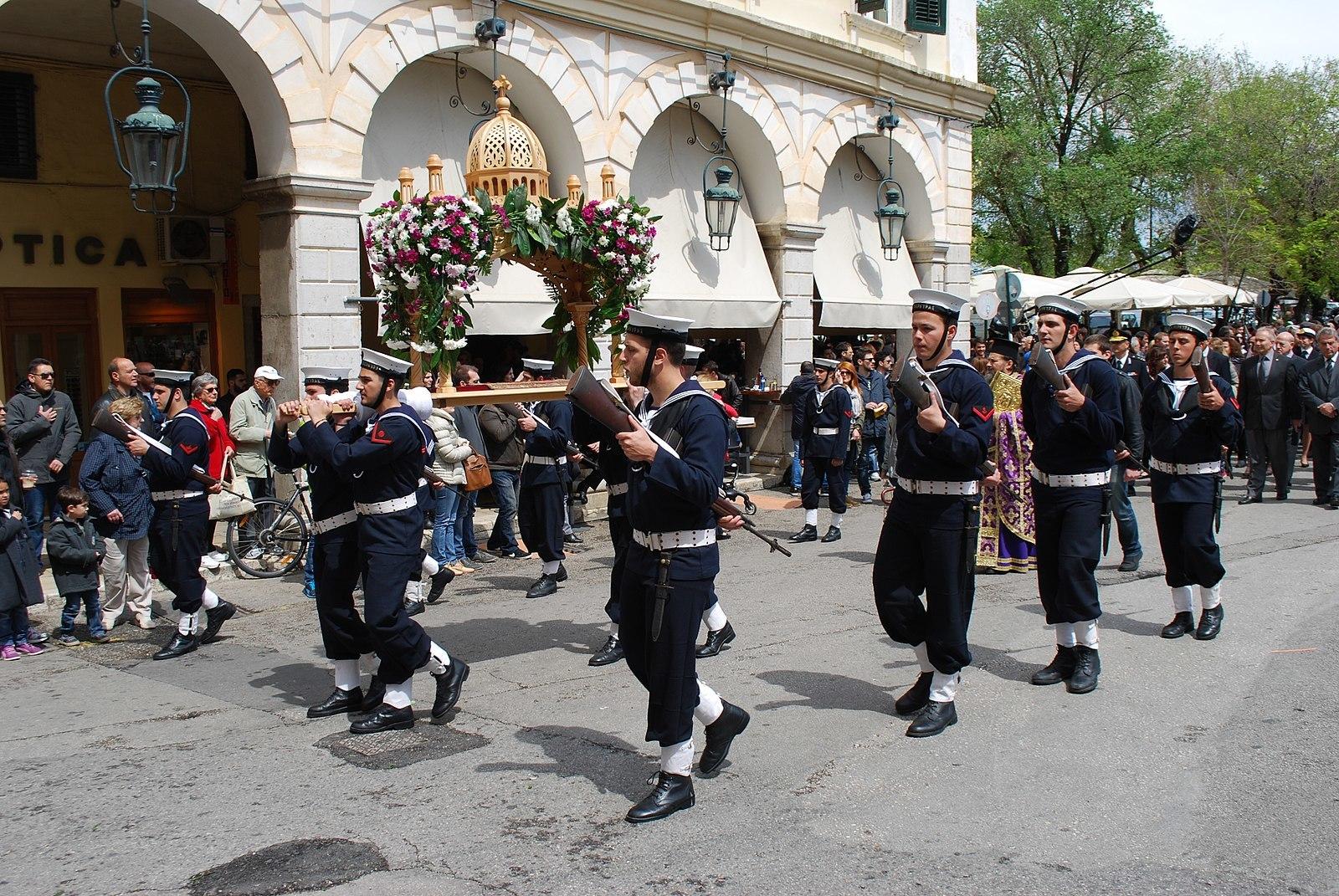 Easter parades, Corfu