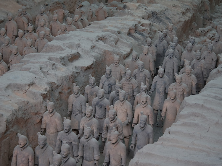 The Terracotta Army, 210–209 BC