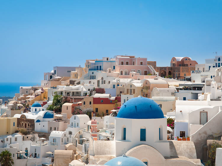 Where to stay in Santorini