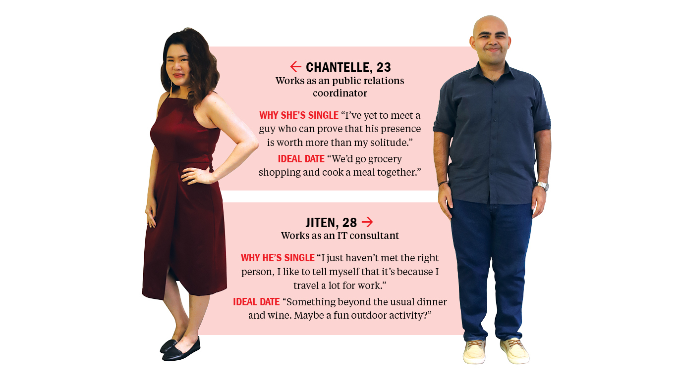 Find me a date: Chantelle and Jiten