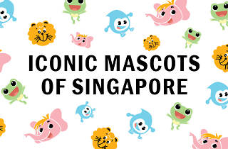 Iconic mascots Singapore