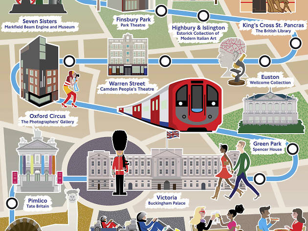 Out and about on the Victoria line