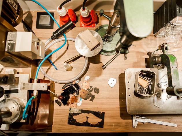 André ópticas atelier, atelier chiado
