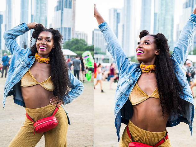 The best fashion looks we spotted at Lollapalooza