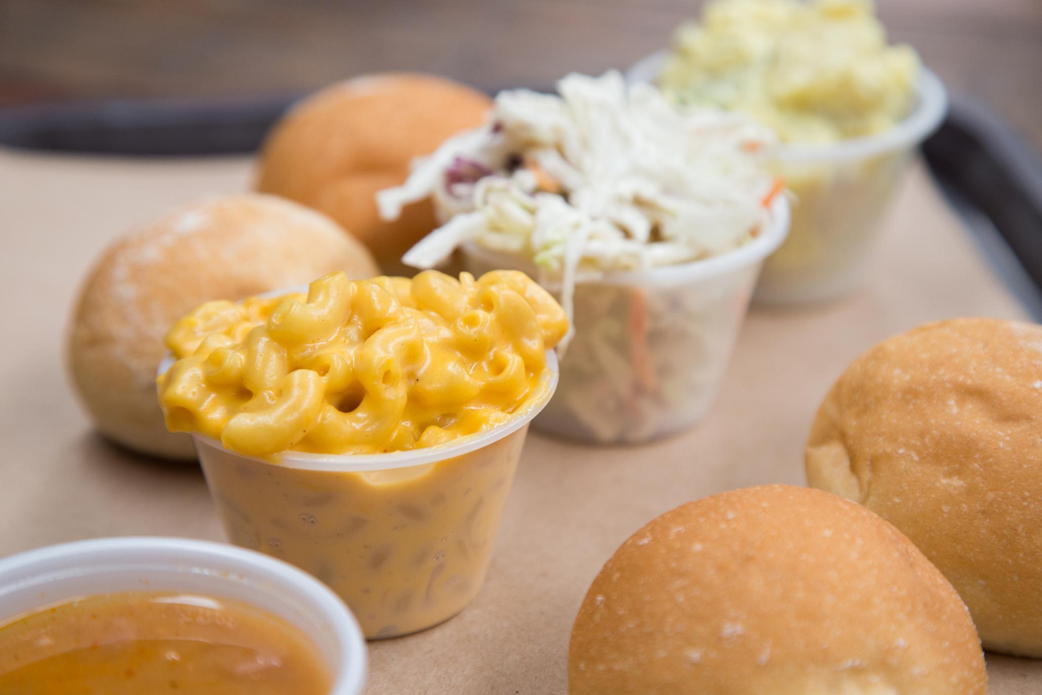 Mac & cheese de Pinche Gringo BBQ
