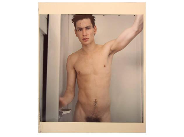 Mark Morrisroe, Untitled (Self Portrait Standing in the Shower)